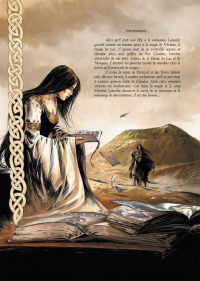 Page 1 Lancelot tome 3 - Morgane
