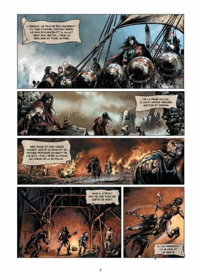 Page 3 Lancelot tome 3 - Morgane