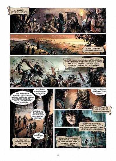 Page 4 Lancelot tome 3 - Morgane
