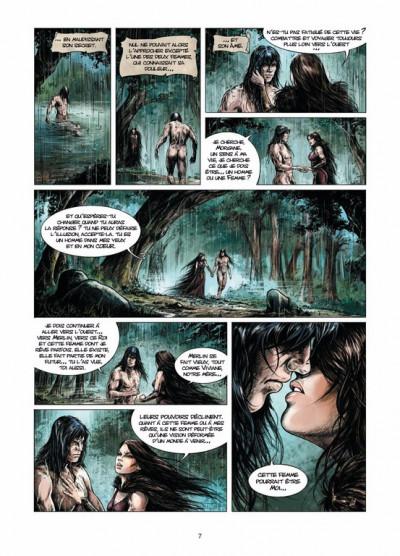 Page 5 Lancelot tome 3 - Morgane