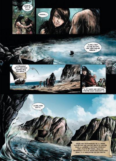Page 6 Lancelot tome 3 - Morgane
