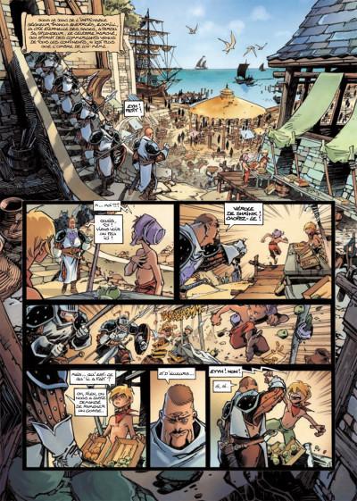 Page 1 Cixi de Troy T.3 - le secret de Cixi tome 3