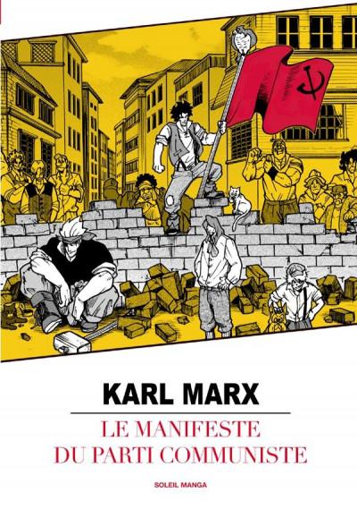 Couverture le manifeste du parti communiste