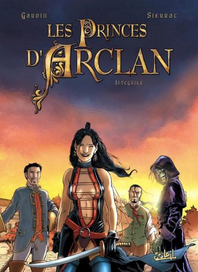 Couverture les princes d'Arclan - intégrale tome 1 à tome 4