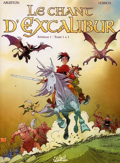 image de le chant d'Excalibur - intégrale tome 1 - tome 1 à tome 3