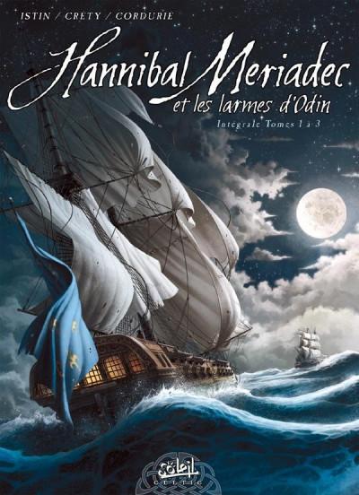 Couverture Hannibal Meriadec et les larmes d'Odin - INTEGRALE T.1 A T.3