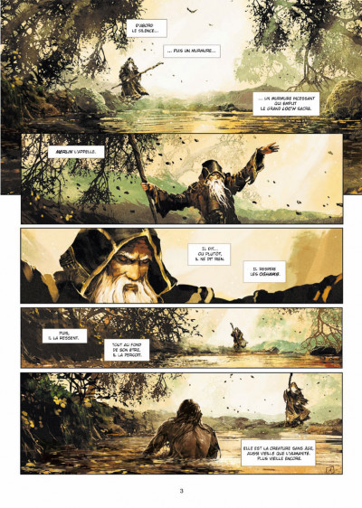 Page 1 Excalibur - chroniques tome 1 - Pendagron