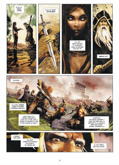 Page 3 Excalibur - chroniques tome 1 - Pendagron