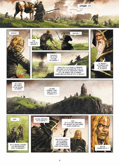 Page 4 Excalibur - chroniques tome 1 - Pendagron