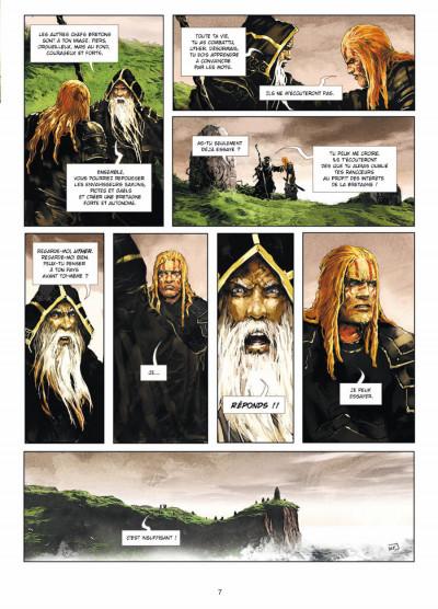 Page 5 Excalibur - chroniques tome 1 - Pendagron