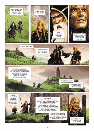 Page 6 Excalibur - chroniques tome 1 - Pendagron