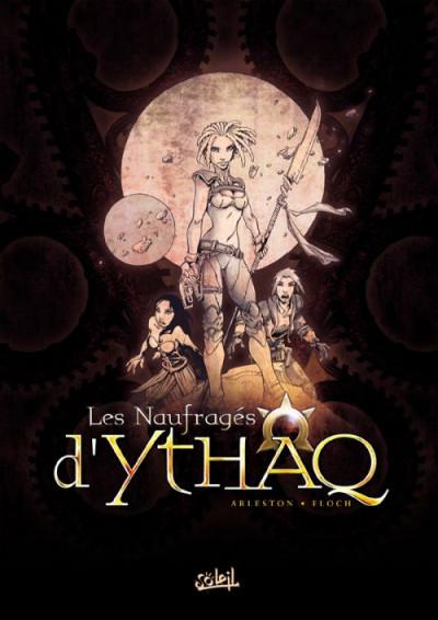 Couverture les naufragés d'Ythaq - coffret tome 1 - tome 1 à tome 3