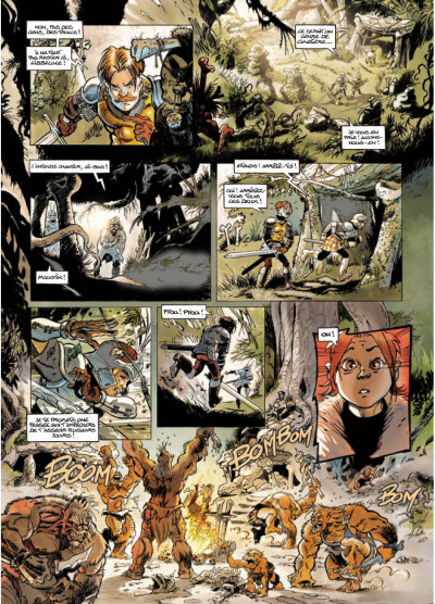 Page 3 légendes de Troy - Nuit Safran T.2 - la vengeance d'Albumen