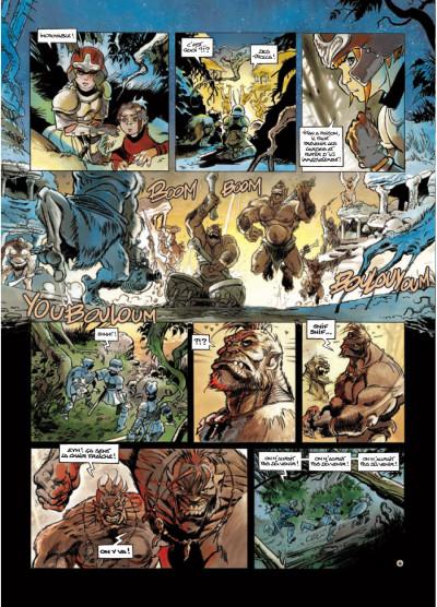 Page 4 légendes de Troy - Nuit Safran T.2 - la vengeance d'Albumen