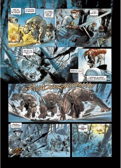 Page 5 légendes de Troy - Nuit Safran T.2 - la vengeance d'Albumen