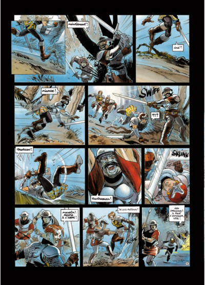 Page 6 légendes de Troy - Nuit Safran T.2 - la vengeance d'Albumen
