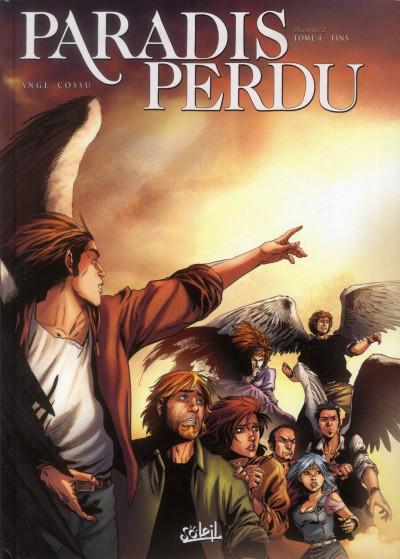 Couverture paradis perdu - psaume 2 tome 4 - fins
