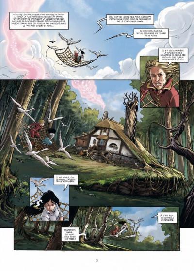 Page 1 triskell tome 3 - le cornu de Borcéliande