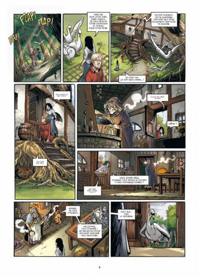 Page 2 triskell tome 3 - le cornu de Borcéliande