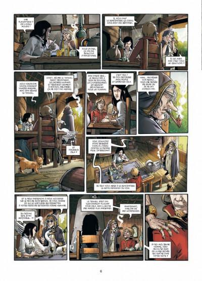 Page 4 triskell tome 3 - le cornu de Borcéliande