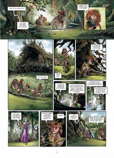 Page 5 triskell tome 3 - le cornu de Borcéliande