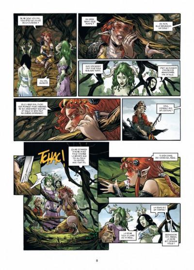 Page 6 triskell tome 3 - le cornu de Borcéliande