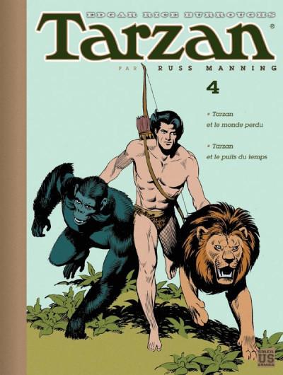 Couverture Tarzan - archives tome 4 - tarzan au coeur de la terre