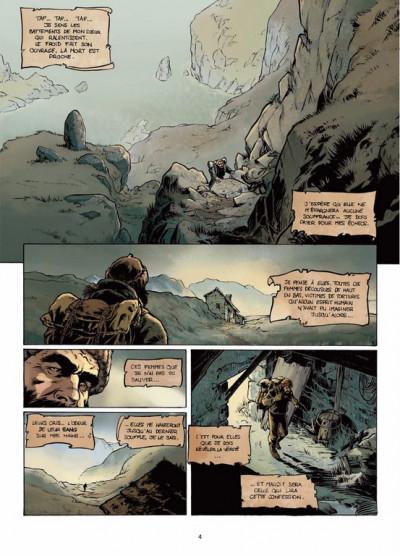 Page 2 Jack l'éventreur tome 1 - les liens du sang