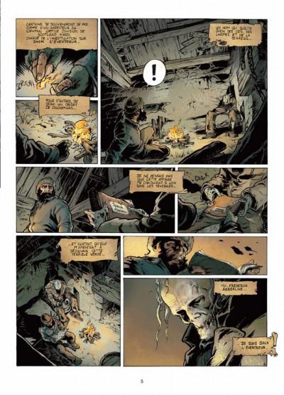 Page 3 Jack l'éventreur tome 1 - les liens du sang