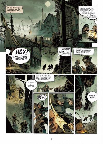 Page 4 Jack l'éventreur tome 1 - les liens du sang