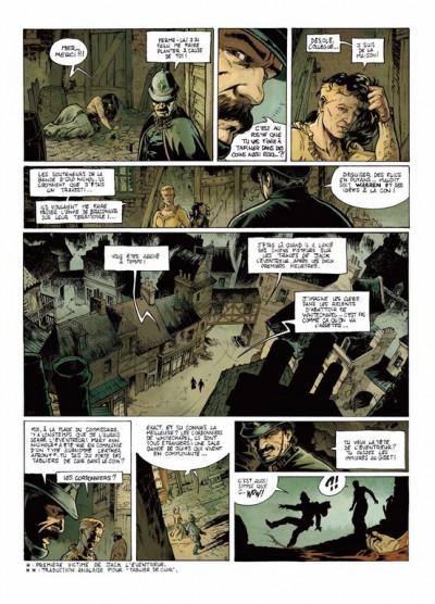 Page 5 Jack l'éventreur tome 1 - les liens du sang