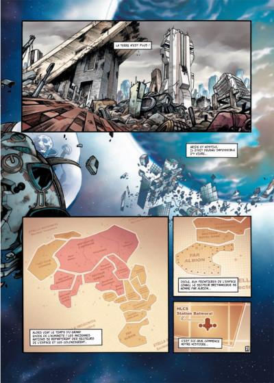 Page 1 Far Albion tome 1 - l'éveil