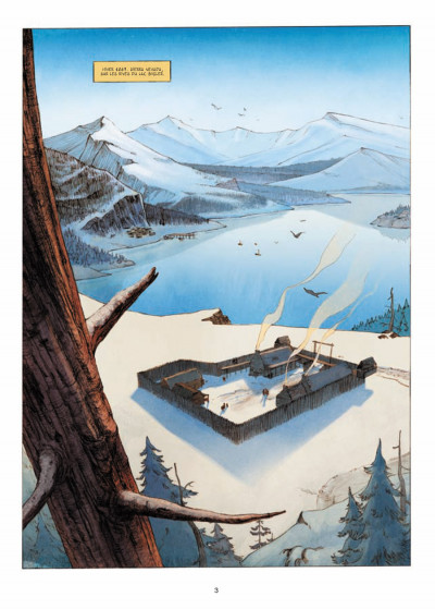 Page 1 l'ours-lune tome 1 - fort Sutter