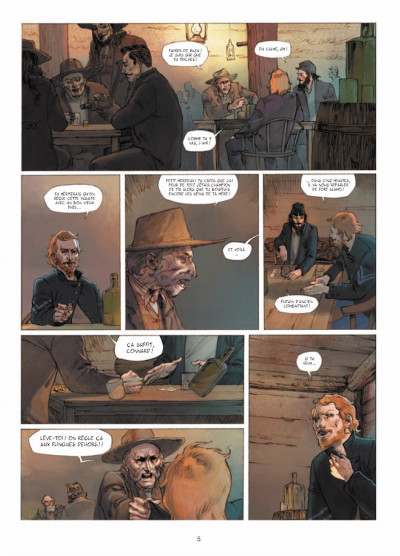 Page 3 l'ours-lune tome 1 - fort Sutter