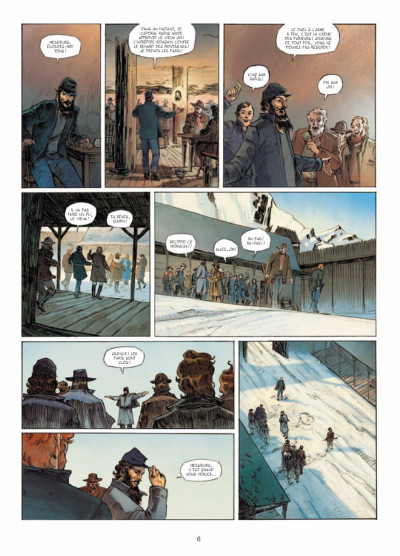 Page 4 l'ours-lune tome 1 - fort Sutter