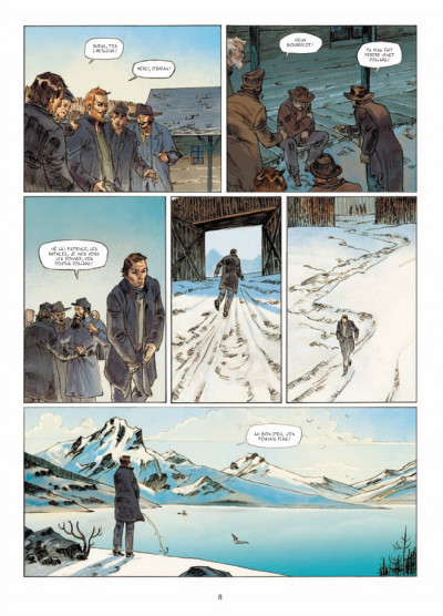 Page 6 l'ours-lune tome 1 - fort Sutter