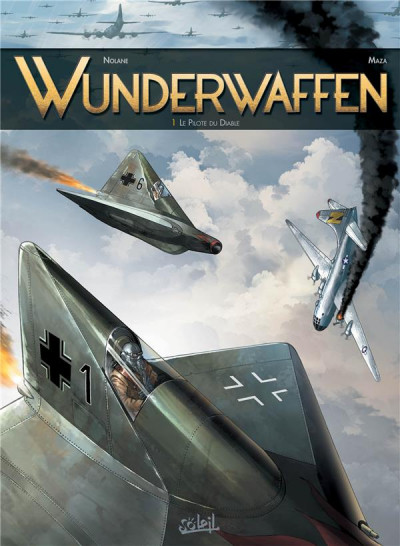 Couverture Wunderwaffen tome 1