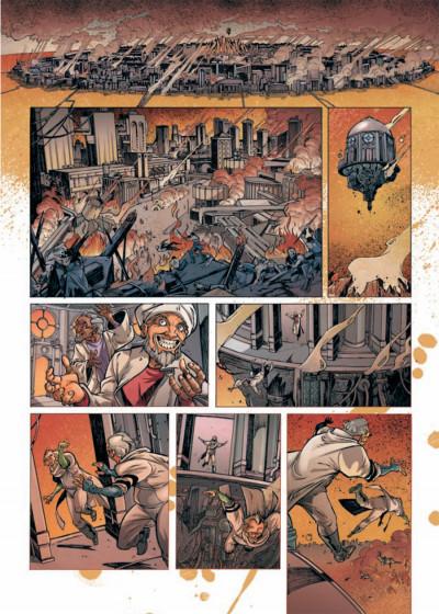 Page 1 Rétine tome 1 - guérilla dans la ville basse