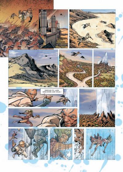 Page 2 Rétine tome 1 - guérilla dans la ville basse