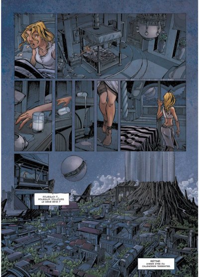 Page 3 Rétine tome 1 - guérilla dans la ville basse