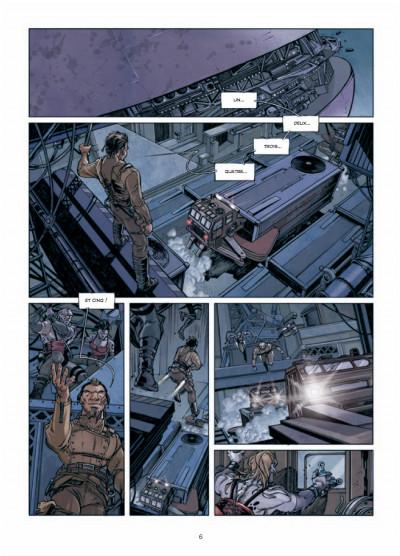 Page 4 Rétine tome 1 - guérilla dans la ville basse