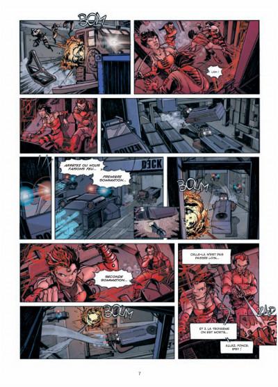 Page 5 Rétine tome 1 - guérilla dans la ville basse