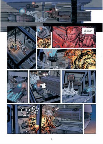 Page 6 Rétine tome 1 - guérilla dans la ville basse