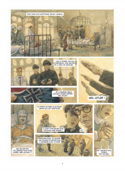 Page 1 malgré nous tome 3 - Germania