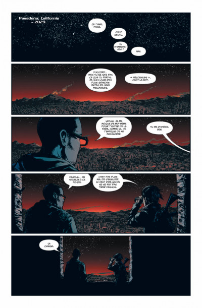 Page 1 Terminator tome 1 - 2029