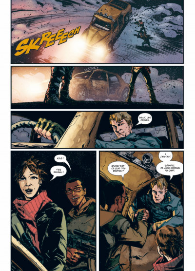 Page 5 Terminator tome 1 - 2029