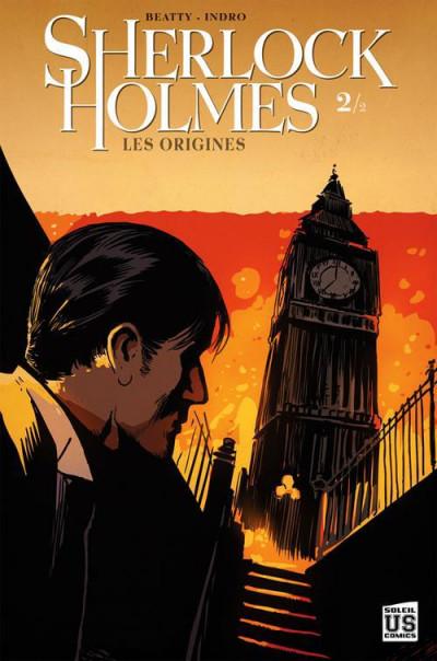 Couverture Sherlock Holmes - les origines tome 2