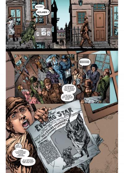 Page 3 Sherlock Holmes - les origines tome 2