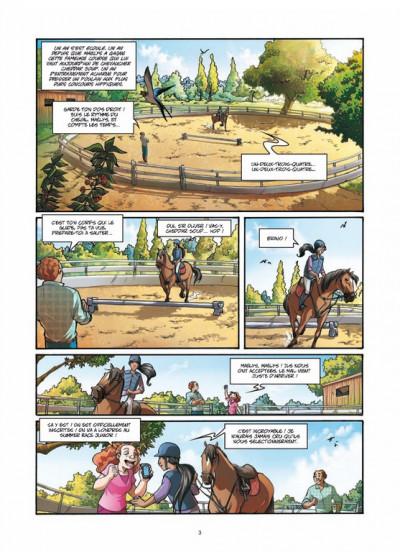 Page 1 galope comme le vent tome 2 - un choix difficile