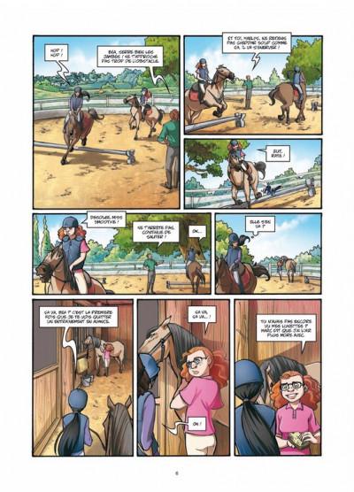 Page 4 galope comme le vent tome 2 - un choix difficile